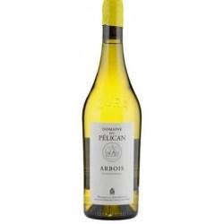 """Domaine du Pélican Arbois """"chardonnay"""" blanc sec 2015 bouteille"""