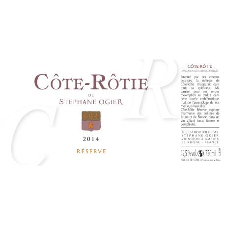 Stephane Ogier Cote Rotie Reserve 2014