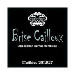 """Domaine du Coulet Matthieu Barret Cornas """"brise cailloux"""" 2014"""