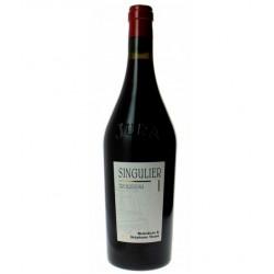 """Domaine Tissot Arbois Trousseau """"Singulier"""" rouge 2015 etiquette"""