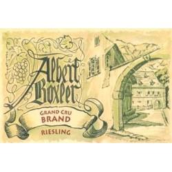 Domaine Albert Boxler Riesling Grand Cru Brand 2015