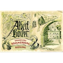 Albert Boxler Riesling grand cru sommerberg 2015 etiquette