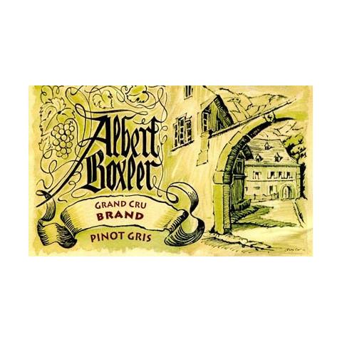 Domaine Boxler pinot gris Grand Cru Brand 2014 etiquette