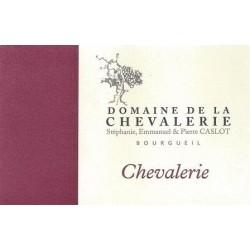 """Domaine de La Chevalerie Bourgueil """"Chevalerie"""" rouge 2014 etiquette"""