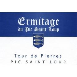 """Ermitage du Pic Saint-Loup """"Tour de Pierres"""" rouge 2015"""
