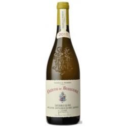 Chateau de Beaucastel Chateauneuf du Pape blanc sec 2015 bouteille