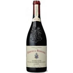 Chateau de Beaucastel Chateauneuf du Pape rouge 2014 bouteille