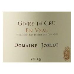 Domaine Joblot Givry 1er Cru En Veau blanc sec 2015 etiquette
