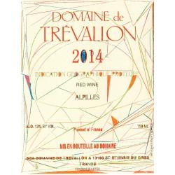 Domaine de Trévallon rouge 2014 etiquette