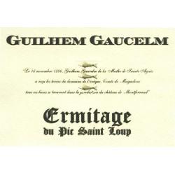 Ermitage du Pic Saint-Loup Guilhem Gaucelm rouge 2011 etiquette