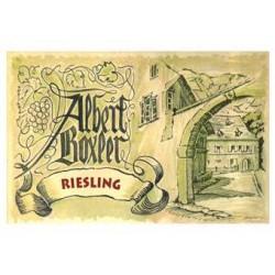 Albert Boxler Riesling 2015 etiquette
