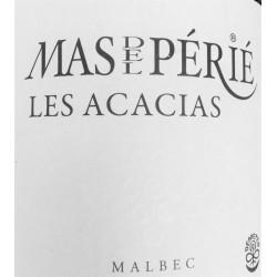 """Mas del Périé Cahors """"Les Acacias"""" 2015 etiquette"""