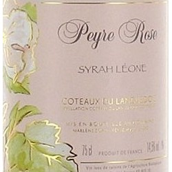 Domaine Peyre Rose Languedoc Syrah Leone 2003 etiquette
