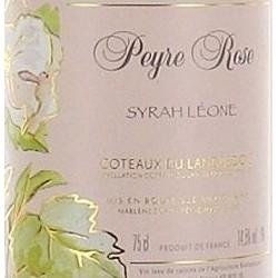 Domaine Peyre Rose Languedoc Syrah Leone 2007 etiquette