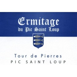 "Ermitage du Pic Saint-Loup ""Tour de Pierres"" red 2015 MAGNUM"