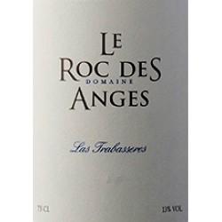 """Le Roc des Anges """"Las Trabasseres"""" rouge 2015 etiquette"""