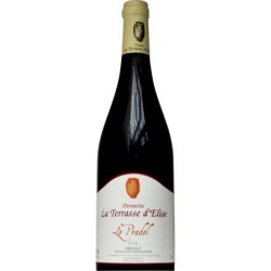 """Domaine La Terrasse d'Elise """"Le Pradel"""" 2015 bouteille"""
