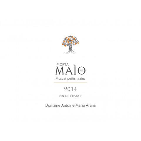Domaine Antoine-Marie Arena Morta Maio Muscat non muté blanc moelleux 2014 etiquette