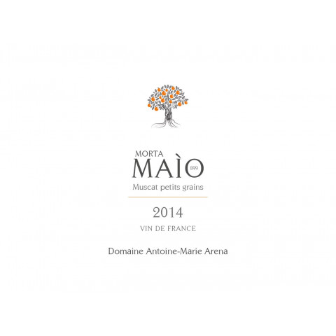 "Domaine Antoine-Marie Arena ""Morta Maio"" muscat non muté blanc moelleux 2014"