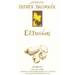 "Domaine Patrick Baudouin ""Effusion"" dry white 2015"