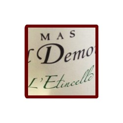 "Mas Cal Demoura ""L'Etincelle"" blanc sec 2016 etiquette"
