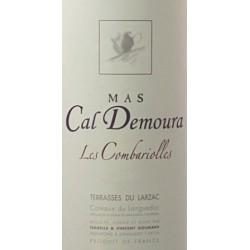 "Mas Cal Demoura ""Les Combariolles"" rouge 2015 etiquette"