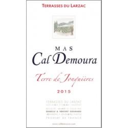 "Mas Cal Demoura ""Terre de Jonquieres"" rouge 2015 etiquette"