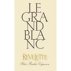 """Chateau Revelette """"Le Grand Blanc"""" 2015 etiquette"""