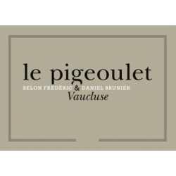 Le Pigeoulet des Brunier 2016 etiquette