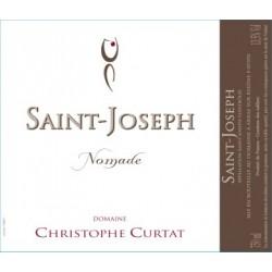 Domaine Christophe Curtat Saint-Joseph nomade 2015 etiquette