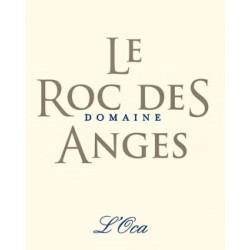 """Le Roc des Anges """"L'Oca"""" blanc sec 2016 etiquette"""