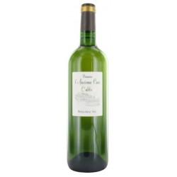 Domaine de l'ancienne Cure Bergerac l'abbaye blanc sec 2015 bouteille