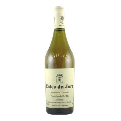 domaine macle cotes du Jura chardonnay savagnin 2013 bouteille