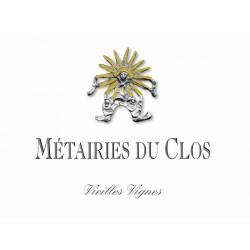Clos Marie Languedoc Pic Saint Loup Metairies du Clos vieilles vignes 2015 etiquette