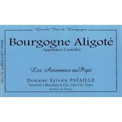 Domaine Sylvain Pataille Bourgogne Aligote Les Auvonnes au Pepe 2014 etiquette