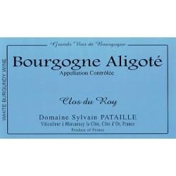 """Domaine Sylvain Pataille Bourgogne Aligote """"Clos du Roy"""" 2014 etiquette"""