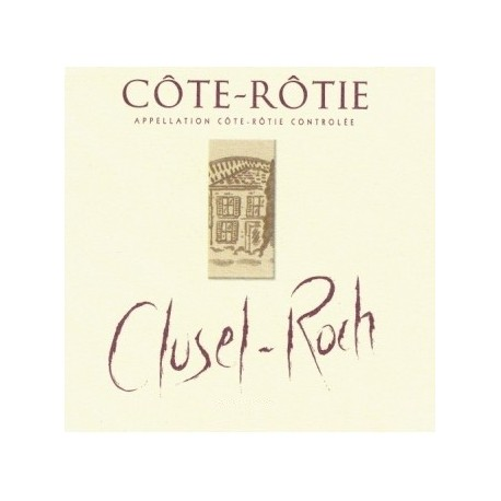 """Domaine Clusel-Roch Côte-Rôtie """"Classique"""" rouge 2015 etiquette"""