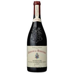 Chateau de Beaucastel Chateauneuf du Pape rouge 2015 bouteille