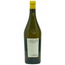 """Domaine Tissot Arbois Chardonnay """"La Mailloche"""" blanc 2015 bouteille"""