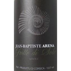 Domaine Jean-Baptiste Arena Grotte di Sole blanc sec 2016 etiquette