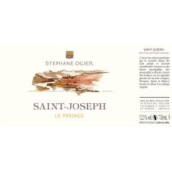 Domaine Stephane Ogier Saint Joseph Le Passage 2015 etiquette