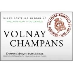 Domaine Marquis d'Angerville Volnay 1er Cru Champans 2015 etiquette
