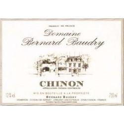 "Domaine Baudry Chinon ""Domaine"" rouge 2015 etiquette"