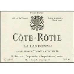 Rostaing Cote Rotie La Landonne 2015 etiquette