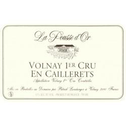 Domaine de la Pousse d'Or Volnay 1er Cru En Caillerets rouge 2015 etiquette