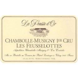 La Pousse d'Or Chambolle Musigny 1er Cru Les Feusselottes 2015 etiquette