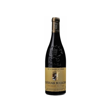 Chateau Maucoil Chateauneuf du Pape rouge 2015 bouteille