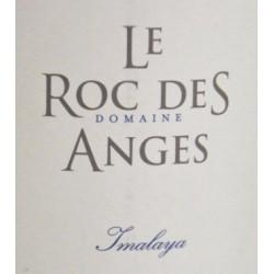 """Le Roc des Anges """"Imalaya"""" blanc sec 2016 etiquette"""
