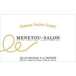 Domaine Philippe Gilbert Menetou-Salon blanc sec 2017 etiquette
