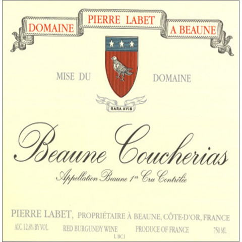 Domaine P. Labet Beaune 1er Cru Coucherias rouge 2011 (75 cl)